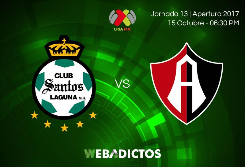 Santos vs Atlas, Jornada 13 del Apertura 2017 | Resultado: 0-1 - santos-vs-atlas-j13-apertura-2017-800x547