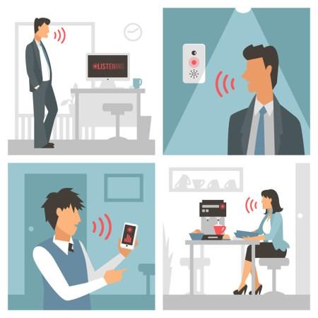 Desarrollan tecnología 'vestible' para asegurar electrónicos manejados por voz