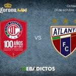 Toluca vs Atlante, Copa MX Apertura 2017 ¡En vivo por internet!