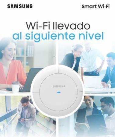 Samsung presenta redes inalámbricas para ambientes empresariales