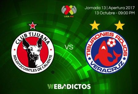 Tijuana vs Veracruz, Jornada 13 de Liga MX A2017 | Resultado: 0-0