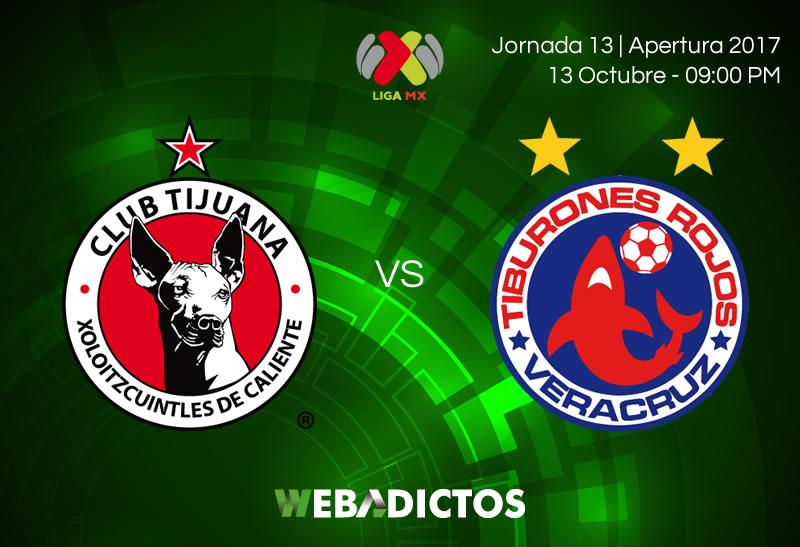 xolos de tijuana vs veracruz j13 apertura 2017 800x547 Tijuana vs Veracruz, Jornada 13 de Liga MX A2017 | Resultado: 0 0