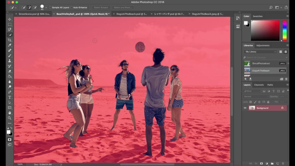 Photoshop permitirá seleccionar personas de manera más simple gracias a Inteligencia Artificial - adobe-photoshop-subject-selection-tool