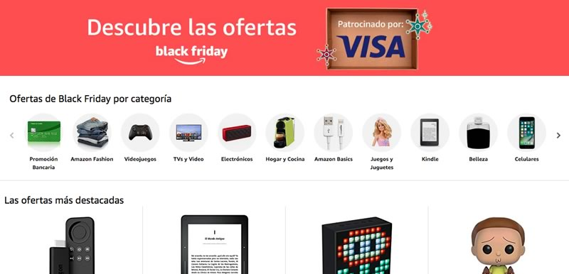 Con De Y El Miles Arranca Amazon Black Ofertas En México 2017 Friday xAU0AwS