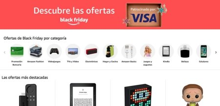 Arranca el Black Friday 2017 en Amazon México con miles de ofertas y promociones