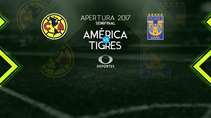 América vs Tigres, Ida de Semifinal A2017 | Resultado: 0-1 - america-vs-tigres-ida-semifinal-apertura-2017-800x449