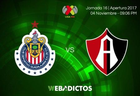 Chivas vs Atlas, Clásico Tapatío el 4 de noviembre   Resultado: 1-2