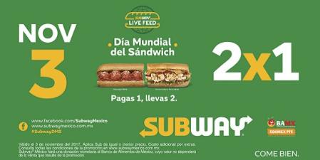 Subway celebra el día mundial del Sándwich con Causa Social