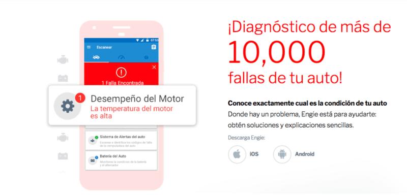 engie diagnostico 800x384 Convierte cualquier coche en un auto inteligente con Engie, ¡ya disponible en México!