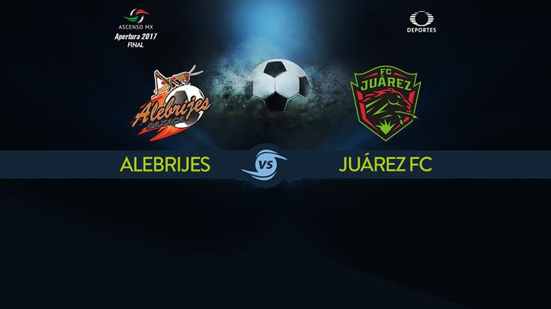 Alebrijes vs Juárez, Final del Ascenso MX A2017 | Ida | Resultado: 1-0 - final-alebrijes-vs-juarez-apertu-2017-800x449
