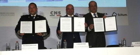TELMEX-Scitum firma convenio en materia de ciberseguridad con la Policía Federal