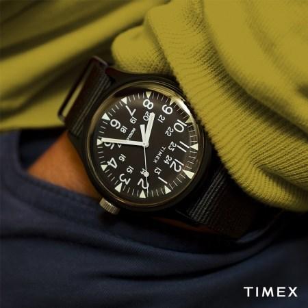 Timex México presenta nuevo reloj MK1 Aluminio