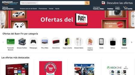 Arrancan las ofertas de Amazon en el Buen Fin 2017 y promociones bancarias