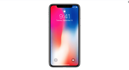 """Apple alerta que la pantalla del iPhone X podrá sufrir de """"persistencia de imagen"""", debido a que es OLED"""