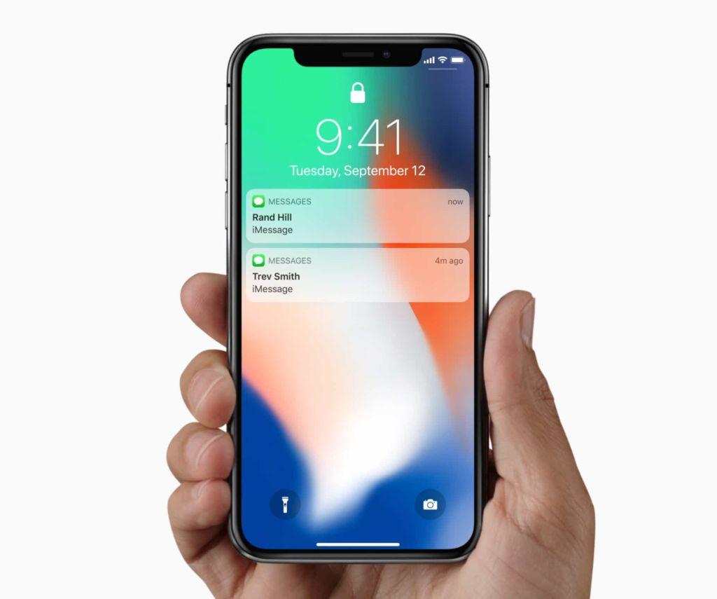 Apple lanzará tres nuevos iPhone todo pantalla en 2018, según reporte - iphonex-notifications
