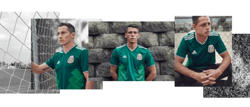 Nueva playera de la Selección Mexicana para Rusia 2018 es presentado por adidas - jersey-selecion-mexicana-rusia-2018-800x343
