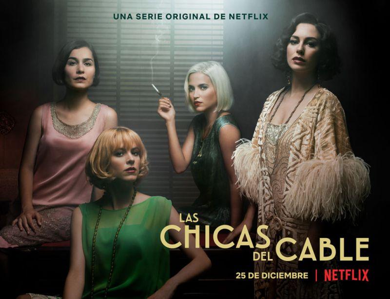 laschicasdelcable netflix 800x613 Netflix anuncia el tráiler y póster de la segunda temporada de Las chicas del cable