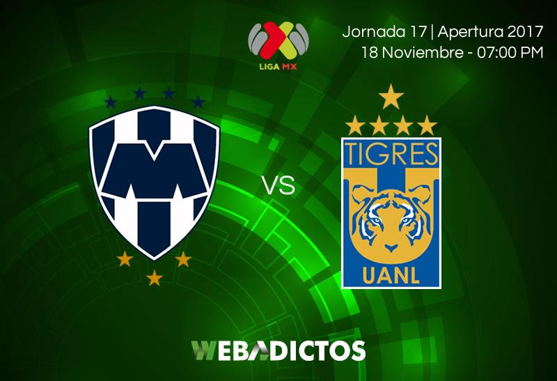 Monterrey vs Tigres, Clásico Regio J17 A2017 | Resultado: 2-0 - monterrey-vs-tigres-jornada-17-apertura-2017-800x547