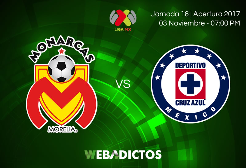 Morelia vs Cruz Azul, Jornada 16 Apertura 2017   Resultado: 1-2 - morelia-vs-cruz-azul-jornada-16-apertura-2017-800x547