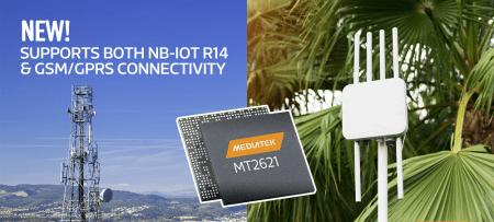 MediaTek lanza nuevo chipset para acelerar el crecimiento del Internet de las Cosas