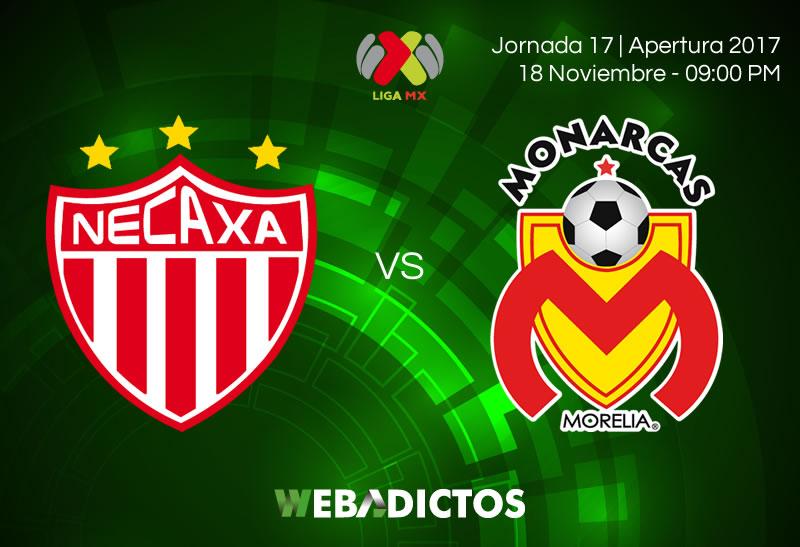 Necaxa vs Morelia, Liga MX J17 AP2017 | Resultado: 1-2 - necaxa-vs-morelia-jornada-17-apertura-2017-800x547