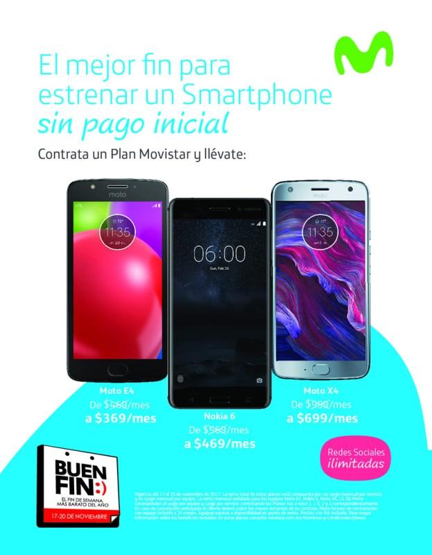 Promociones y ofertas del Buen Fin 2017 en Movistar ¡Conócelas! - promociones-movistar-buen-fin-2017-623x800