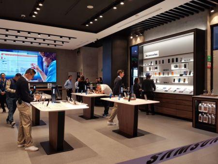 Samsung inaugura su primera tienda Experience store en México