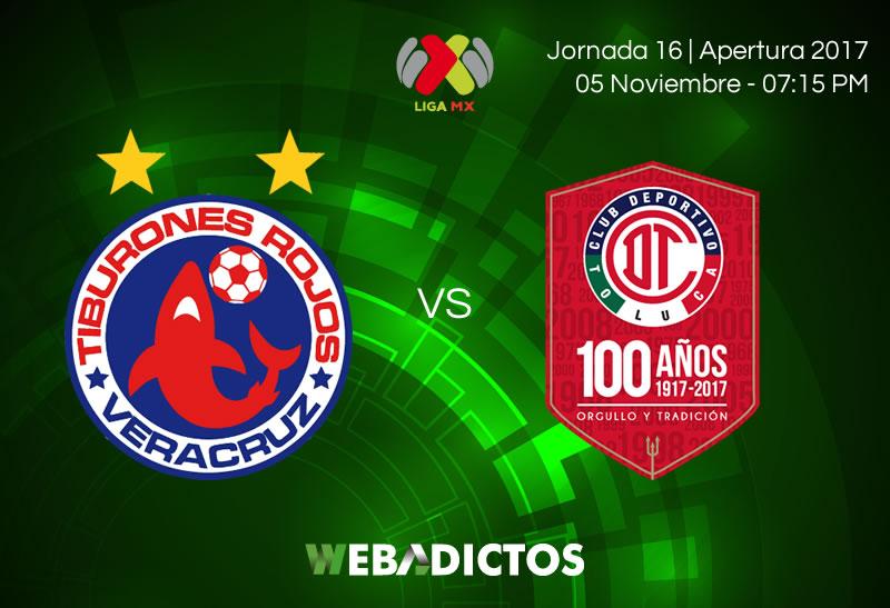 Toluca derrota a Veracruz y se pone en zona de Liguilla