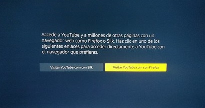 YouTube desaparece de los Amazon Fire TV y Fire TV Stick