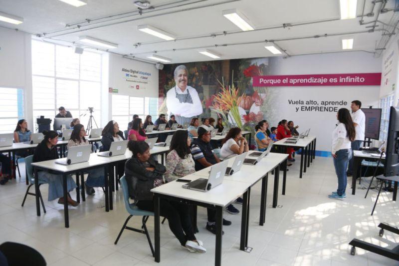 Inauguran Aldea Digital Iztapalapa TELMEX TELCEL - aldea-digital-iztapalapa-2-800x533