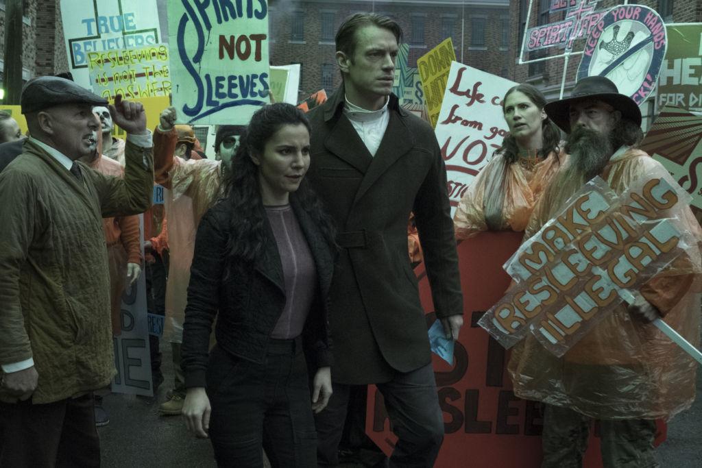El primer trailer de Altered Carbon, la serie cyberpunk de Netflix