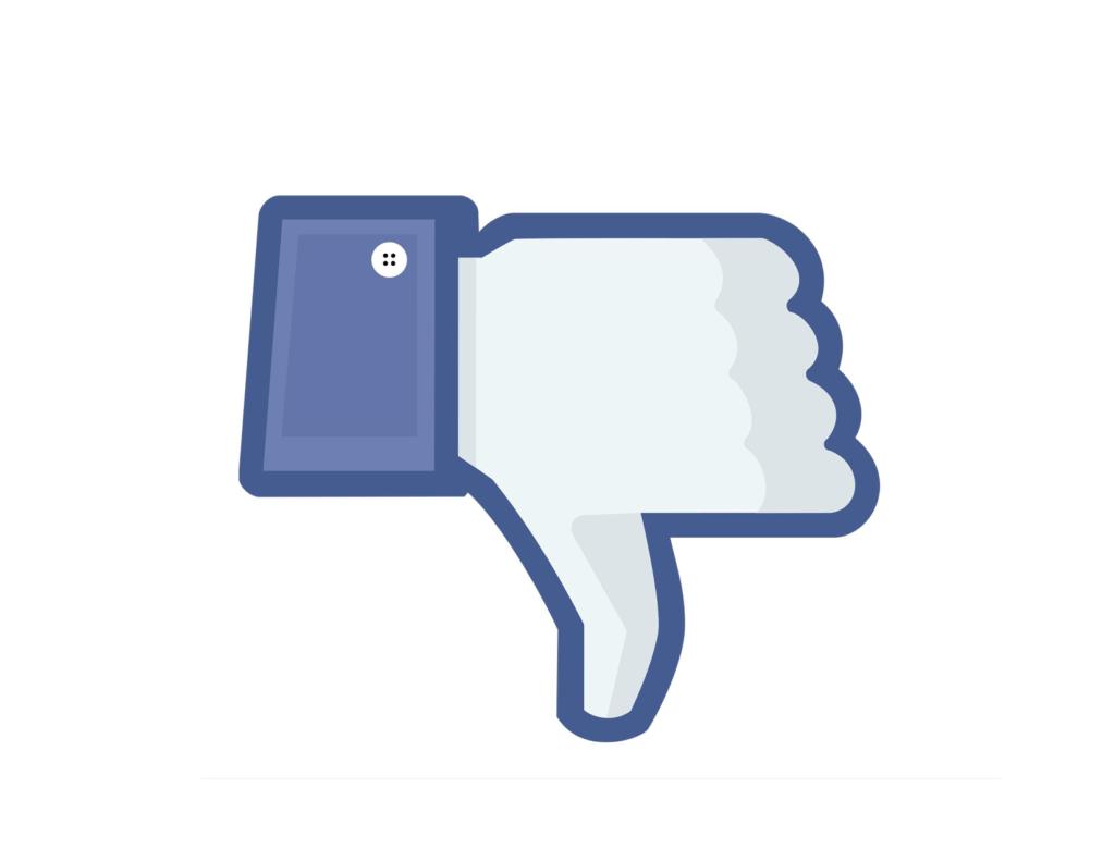 Facebook filtrará las publicaciones que pidan reacciones, comentarios y compartir - facebook-dislike