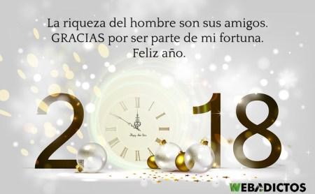Frases de año nuevo 2018 para felicitar a tus seres queridos