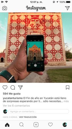 Instagram está probando la opción de comentar directamente en el feed de noticias