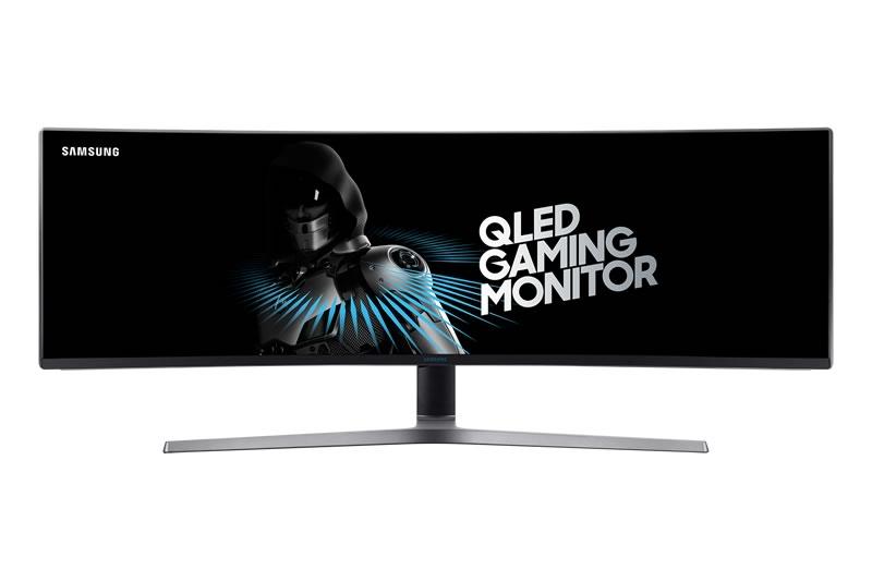 Nuevo monitor curvo HDR QLED mejora la experiencia de jugar videojuegos - monitor-gaming-chg90-800x533