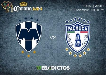 Monterrey vs Pachuca, Final Copa MX A2017 | Resultado: 1-0