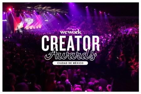Los premios Creator Awards de WeWork se celebrarán por primera vez en México