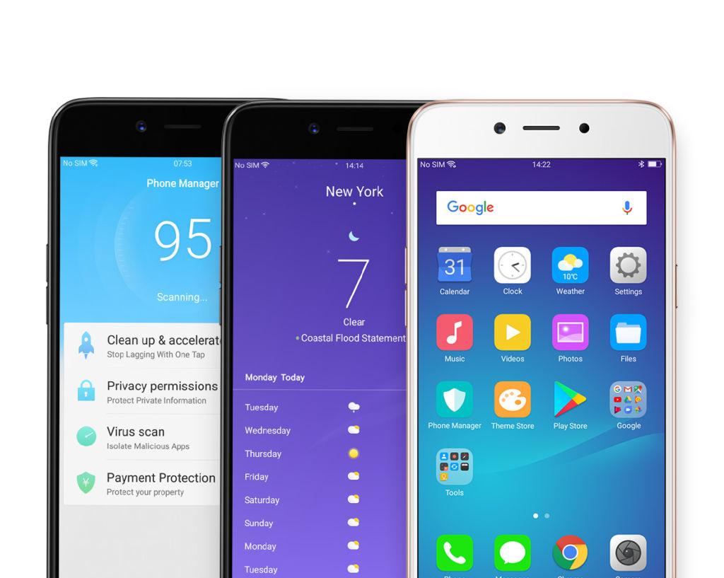 El nuevo smartphone de Oppo incluye Inteligencia Artificial para embellecer selfies - a71-18-coloros
