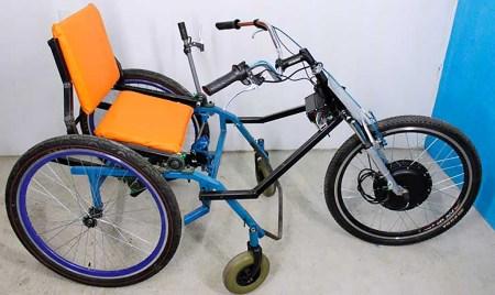 Crea UNAM dispositivo para que personas con discapacidad motriz recorran vías de terracería