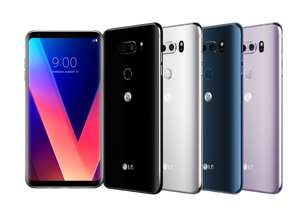 LG apostaría por un V30 con Inteligencia Artificial como su producto estrella para el MWC 2018 - lg-v30-colors