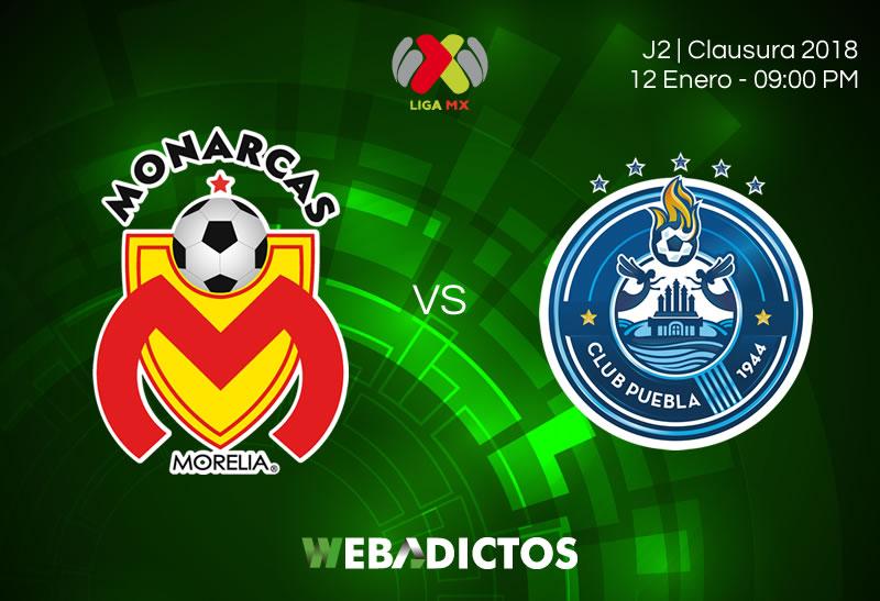 morelia vs puebla jornada 2 clausura 2018 800x547 Morelia vs Puebla, Jornada 2 del Clausura 2018   Resultado: 1 0