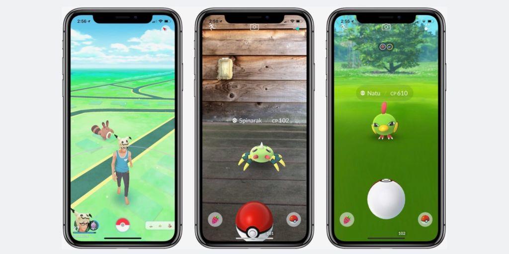 Pokémon GO requerirá que tu dispositivo Apple tenga iOS 11 para funcionar - pokemon-go-on-iphone-x