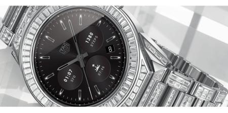Este smartwatch TAG Heuer con Android Wear cuesta alrededor de 197,000 dólares
