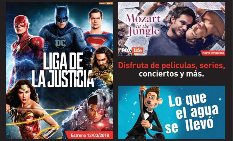 Estrenos Claro Video en Marzo de 2018 Coco, Justice League y más..