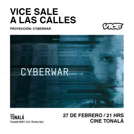 """VICE presenta """"Cyberwar"""" panorama general sobre el espionaje cibernético"""