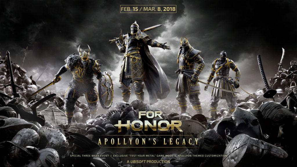El Legado de Apollyon, el nuevo evento de tiempo limitado de For Honor - el-legado-de-apollyon