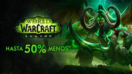 ¡El descuento del 50% en World of Warcraft termina este fin de semana!