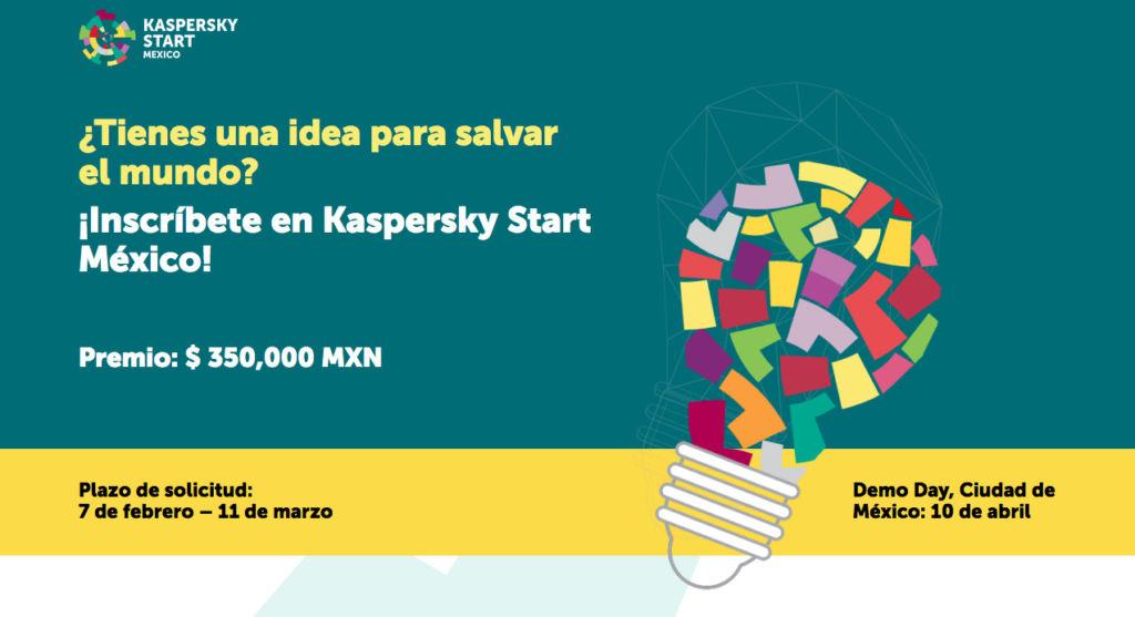 Convocatoria para participar en el concurso Kaspersky Start México - kaspersky-start-mexico