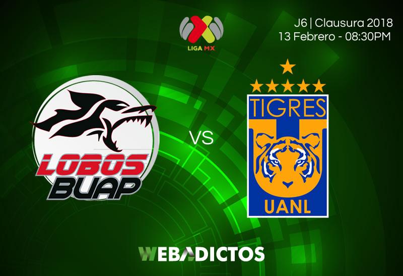 Lobos BUAP vs Tigres: Cómo ver el partido en la J7 del Clausura 2018 - lobos-buap-vs-tigres-clausura-2018-j7