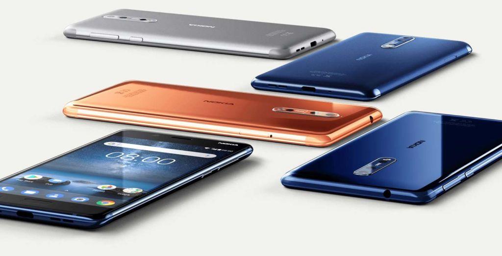 HMD Global estaría preparando una versión premium del Nokia 8, su actual gama alta - nokia-8-colors